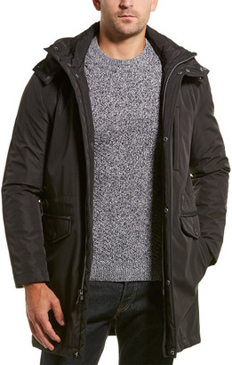 Cole Haan Removable Hood Coat