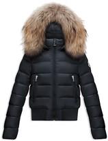 Moncler Girls' Alberta Bomber Puffer Jacket - Sizes 8-14