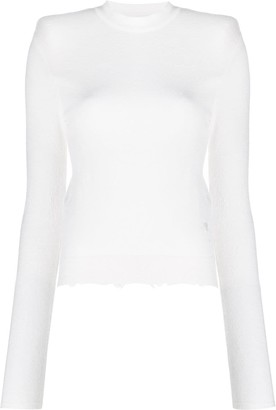 Unravel Project Distressed Cashmere Jumper