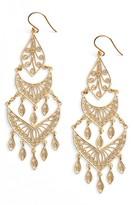 Argentovivo Women's Chandelier Earrings