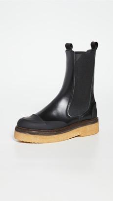 Ganni Midcalf Boots