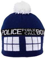 Elope Doctor Who Tardis Pom Beanie Hat