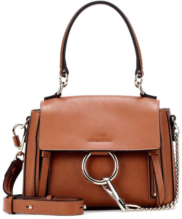 Mini Faye Day leather shoulder bag