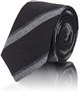Alexander Olch Men's Diagonal-Striped Wool Necktie