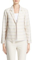 Lafayette 148 New York Women's Frankie Stripe Jacquard Jacket