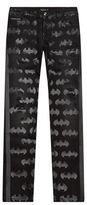 Philipp Plein Batman Logo Straight Leg Jeans