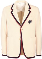 Gucci Palma wool and cotton jacket
