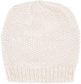 The Elder Statesman cashmere seed stitch beanie - unisex - Cashmere - One Size