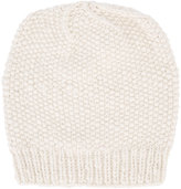 The Elder Statesman cashmere seed stitch beanie