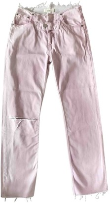Alyx Pink Cotton Jeans