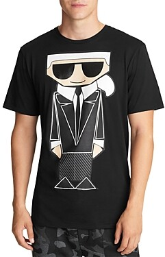 Karl Lagerfeld Paris Caricature Tee