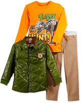 Nannette Little Boys' 3-Pc. Jacket, Shirt & Pants Set