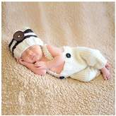 Space PH Photography Baby Outfits Costumes Clothes for Newborn Infant within 3~6 Months Photo Crochet Knitted Photography Outfit Set