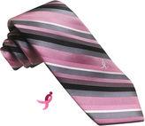 Asstd National Brand Susan G Komen Stripe Tie