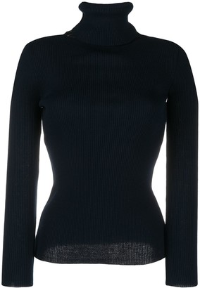 Y/Project High Neck Knitted Jumper