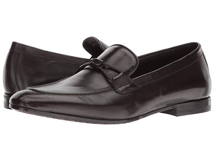 Canali Braided Loafer Men's Shoes