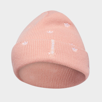 adidas Women's Allover Print Embroidery Beanie Hat