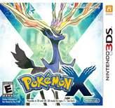Nintendo Pokemon X 3DS)
