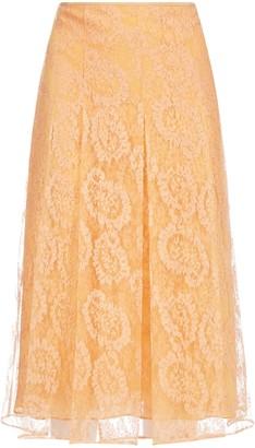 Fendi Flared Lace Skirt