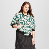 Who What Wear Women's Plus Size Bomber Jacket