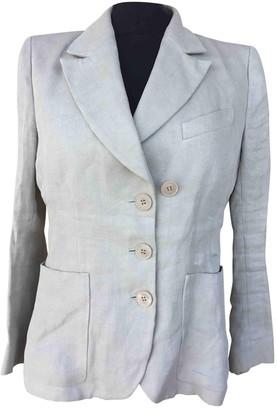 Sonia Rykiel Beige Linen Jacket for Women