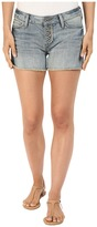 Mavi Jeans Emily Mid-Rise Relaxed Shorts in Light Boho