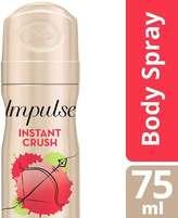 Impulse Instant Crush Body Spray 75ml