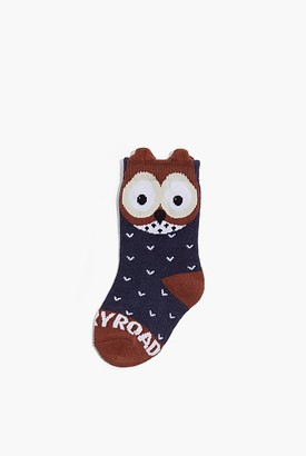 Country Road Owl Sock