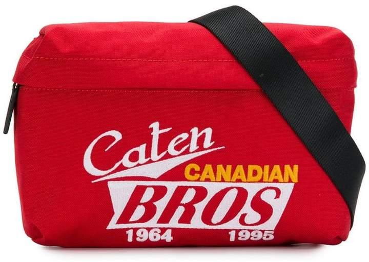 DSQUARED2 printed shoulder bag