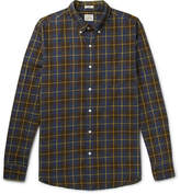 J.crew - Vernon Button-down Collar Checked Cotton Shirt