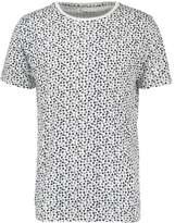 Knowledge Cotton Apparel Print Tshirt Total Eclipse