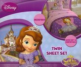 Disney Sofia The First Graceful Twin Sheet Set