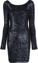 Kiki de Montparnasse sequinned backless mini dress