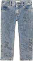 Gucci Children's printed tapered pant