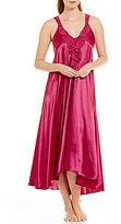 Oscar de la Renta Charmeuse Nightgown