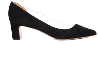 Francesco Russo PVC and Suede Pump