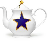 Melody Rose London Lucky Stars Teapot 6 Cup
