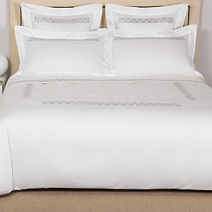 Frette Basket Weave Embroidery Sheet Set, Cal King
