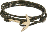 Miansai Anchor gold-toned wrap bracelet