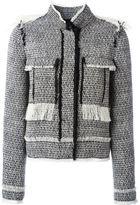 Lanvin tweed jacket - women - Silk/Cotton/Acrylic/Polyamide - 36