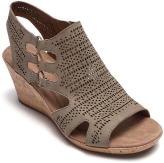 Cobb Hill Janna Perforated Wedge Sandal