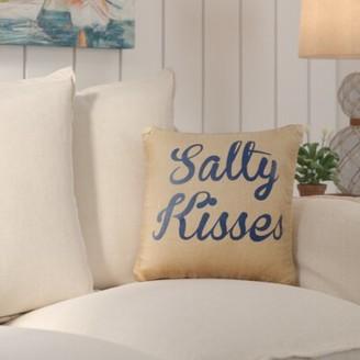 Beachcrest Home Meyers Burlap Throw Pillow