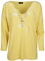 Ermanno Scervino Fine Knitted Blouse