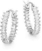 Saks Fifth Avenue Baguette Hoop Earrings