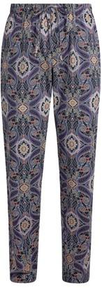 Hanro Paisley Print Lounge Trousers
