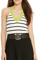 Lauren Ralph Lauren Petite Petite Striped Halter Top