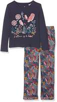 Fat Face Girl's Bedtime Is A Hoot Jersey Pyjama Sets