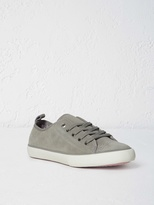 White Stuff Suede lace up trainer