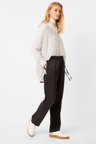 French Connection Aoko Ayn Check Popover Shirt