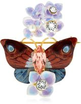Dolce & Gabbana Butterfly And Hydrangea Pin